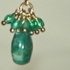 Russian Amazonite Sparkle Drop Earrings