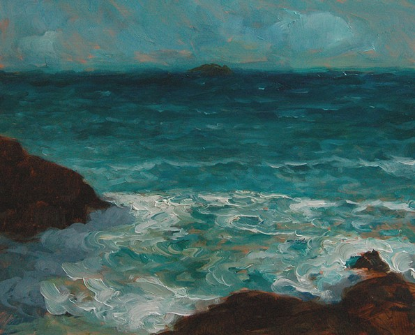 Rough Sea, Summer