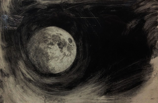 Moon (etching)