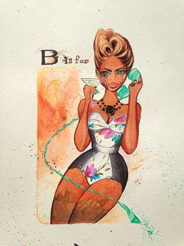 """B"" is for Beyonce"