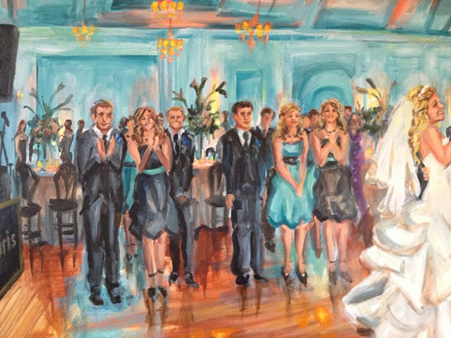 Detail, First dance at Carltun's on the Park, Long Island, 2013
