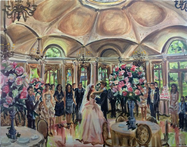Wedding Reception at the Pleasantdale Chateau, West Orange, NJ