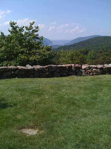 Renee and Robert's wedding site at Osborn Castle (Cat Rock), Garrison, NY
