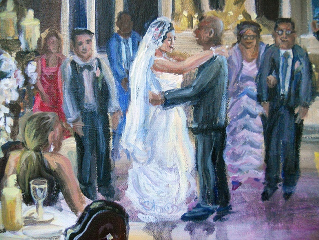 Maria and John's Wedding (detail)
