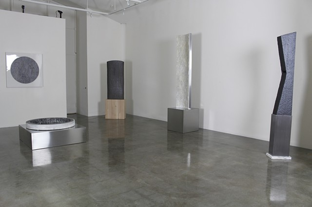 Monoliths of Memory  Two person exhibition with Cozette Phillips