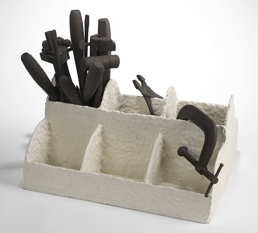 Tybre Newcomer, Ceramic, Sculpture
