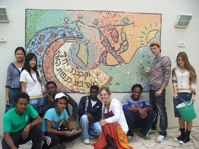 Yemin Orde Youth Village Mosaic