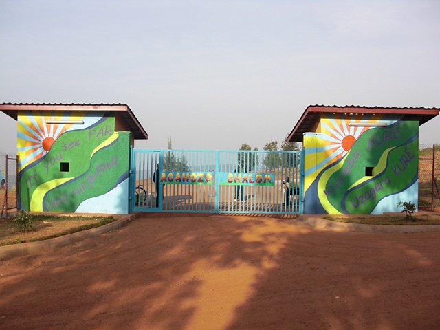 Front gate, The Agahozo-Shalom Youth Village