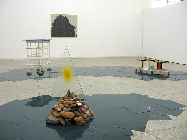 Sandra Eula Lee, Exhibition view at Chinese-European Art Center, Xiamen, China