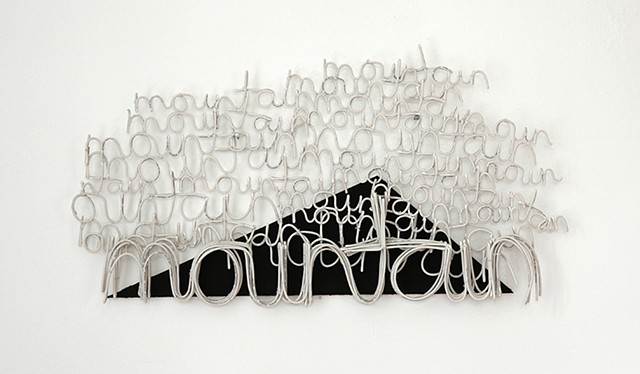 Sandra Eula Lee, The Walking Mountain (paved), electrical wire, construction sites