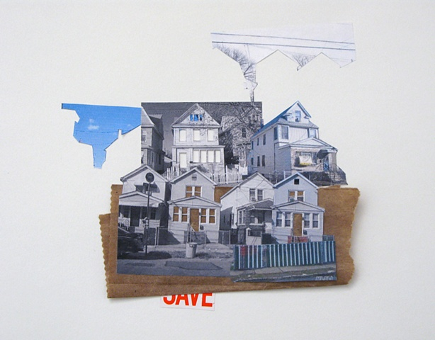 Sandra Eula Lee, Open air motel, Collage, foreclosure listings