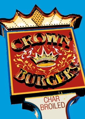 crown burger 30th