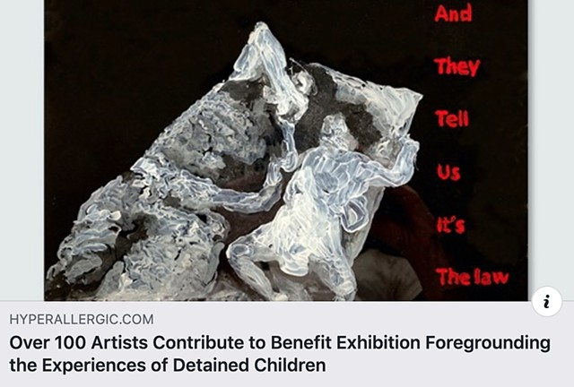 Over 100 Artists Contribute to Benefit Exhibition Foregrounding the Experiences of Detained Children