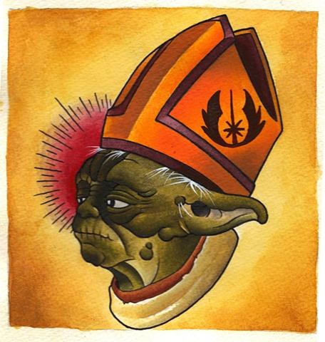 Pope Yoda