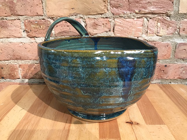Blue Mixing Bowl
