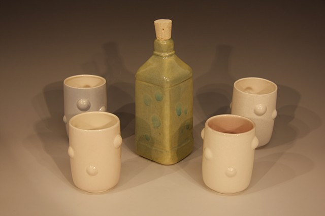 Yu-Wen Bottle with Cups