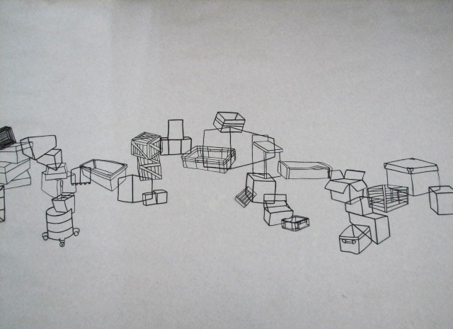 Boxes Landscape, view 2