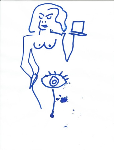 The Blue Drawings 6