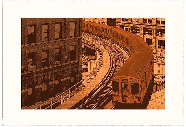Brown Line II