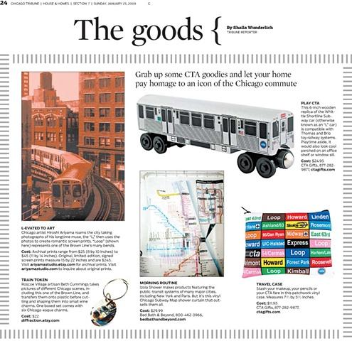 Chicago Tribune January 09