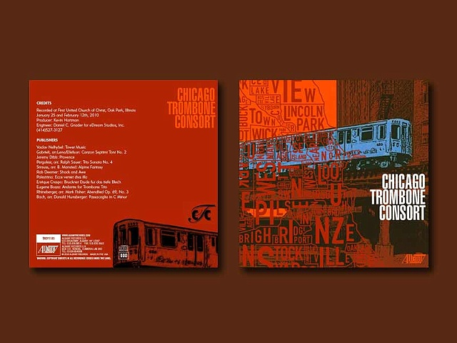 Chicago Trombone Consort CD Jacket