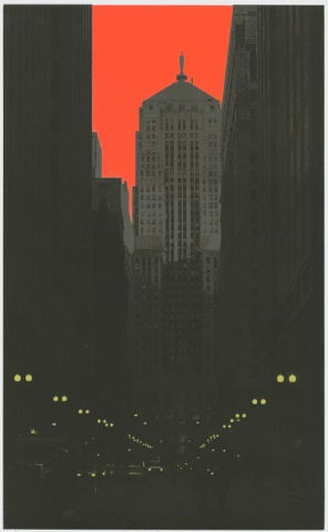 Lasalle Street (red)