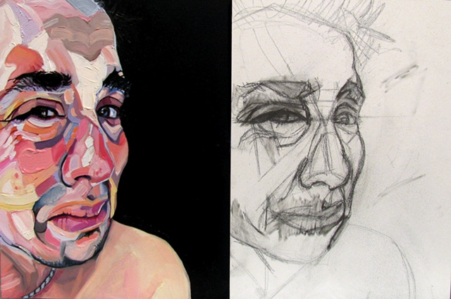 Naked  *diptych