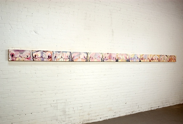 installation view of From There to Here (2007 - 2010)