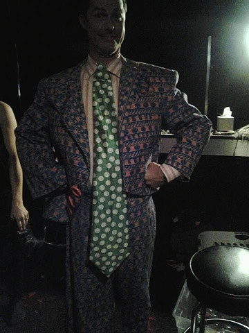 Zany Cotton Party Suit