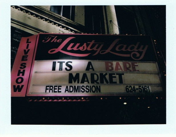 The Lusty Lady. 9.28.08