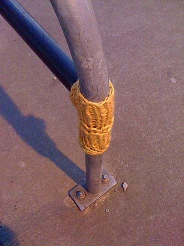Guerilla Knitting, Velo Cycles