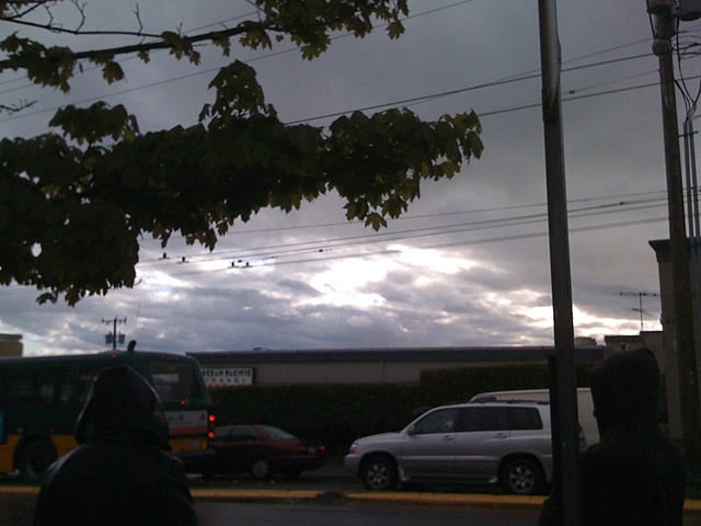 Clouds, 12th Ave. S & S Jackson Bus Stop