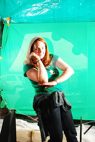 You Are Here green screen pose 2