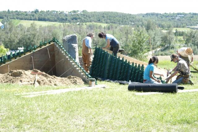 Louise McKinney Riverfront Centennial Project, Alberta, Canada