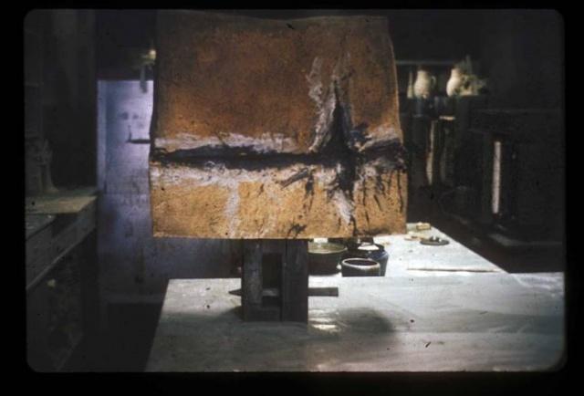 First sculptural piece 1966-67