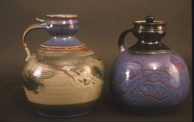 Lidded Pouring Jars