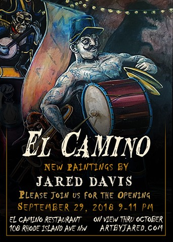 El Camino Opening Reception September 29th 2018