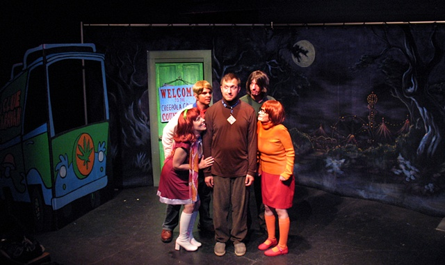 Spooky Dog and the Teenage Gang Mysteries Production Photo