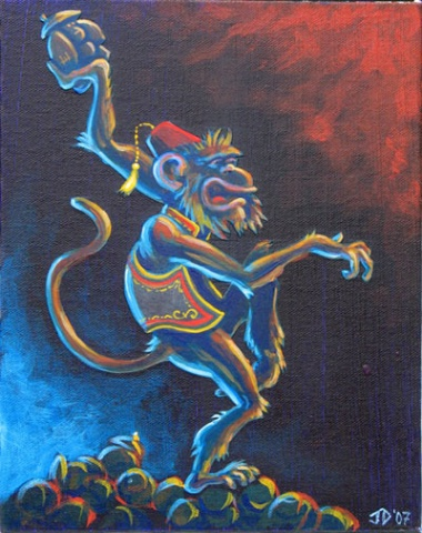 Coconut Monkey (sold)