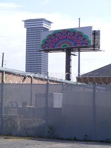 Samantha Hookway- Billboard Art Project - New Orleans