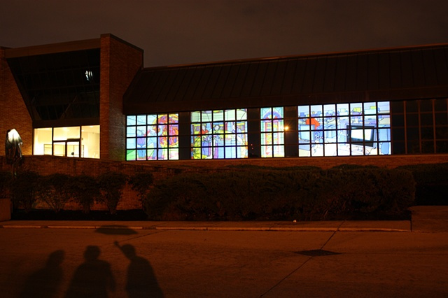 Stane Pane Collective, Digital Projections, Stained Glass