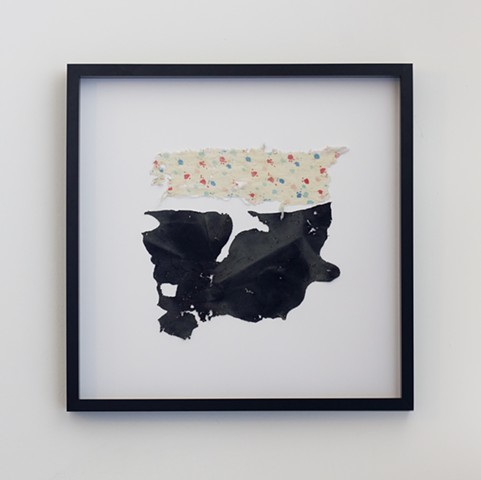 Watershed Cloth (Tijuana River, Black, Pink, and Blue)