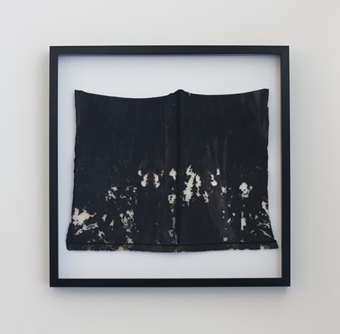 Watershed Cloth (Pueblo Watershed, Black Square)