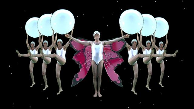 David Kagan performance video art The Year In Review disco giorgio moroder gallery museum whitney biennial 7up scanimate matthew barney paul mccarthy