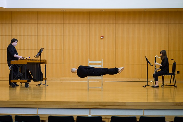 Transient Visitant (With Marimba, Clarinets, Body and Chair)