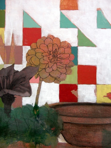 The Substitute Garden (flower detail)