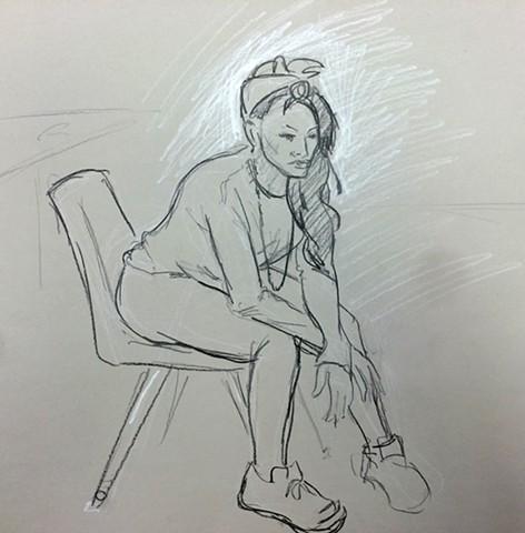 Observational Figure Sketch