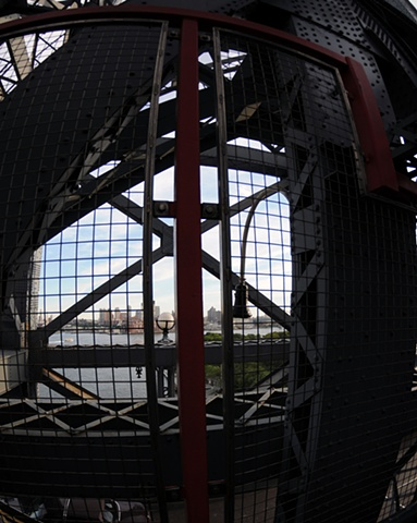 Williamsburg Bridge/Fisheye