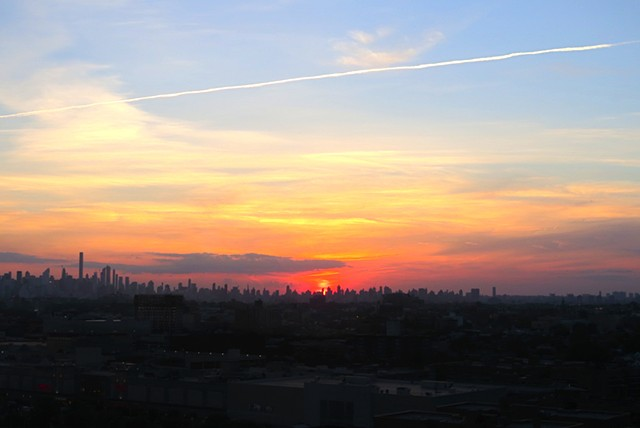 Ever Changing Skyline Above NYC