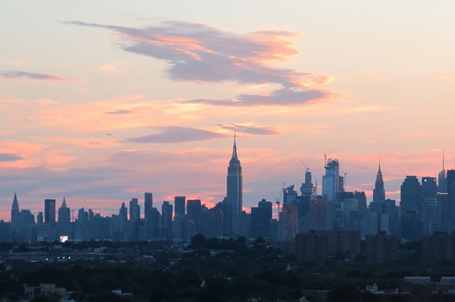 Ever Changing Skyline Above NYC13